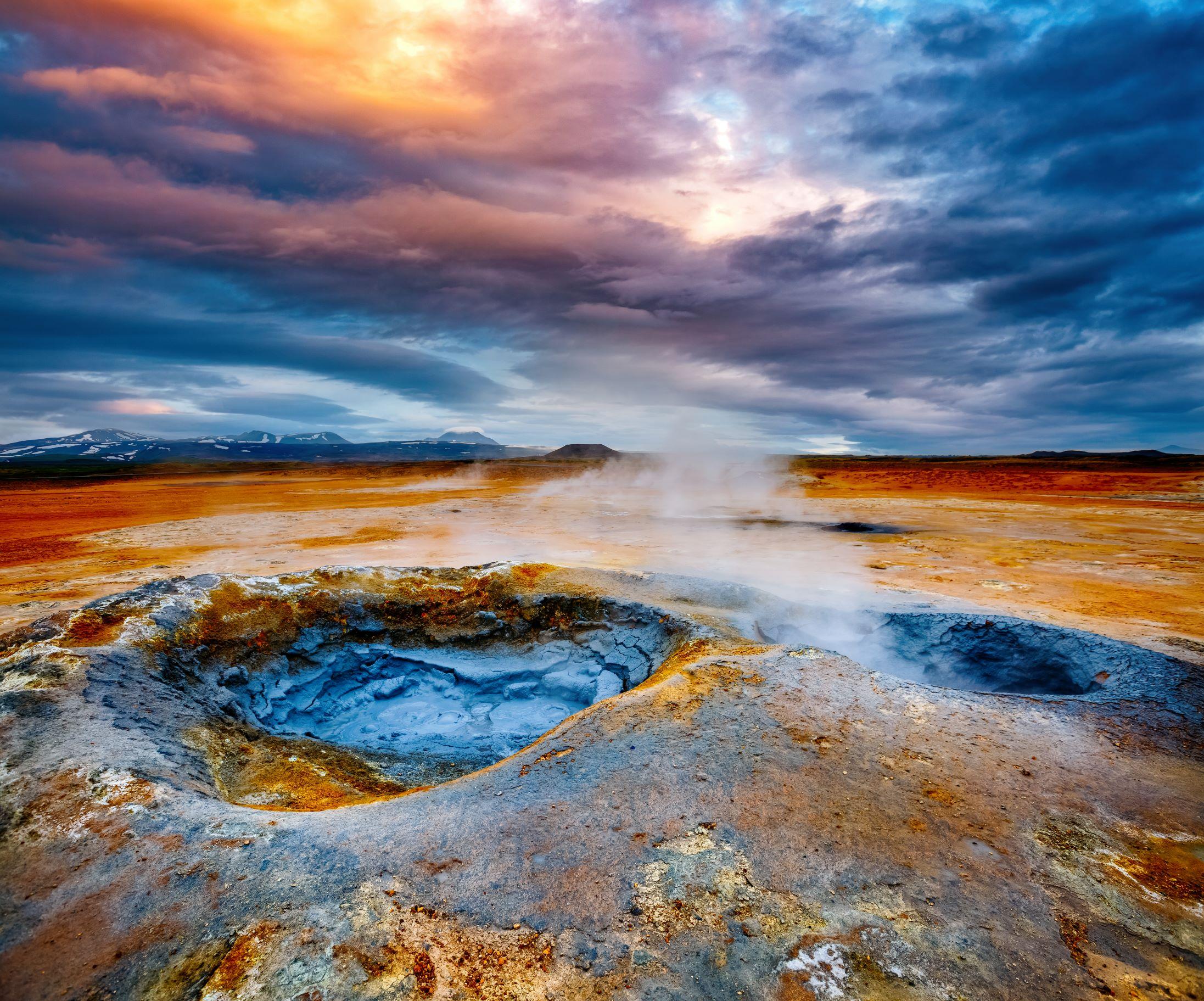 geothermal smaller